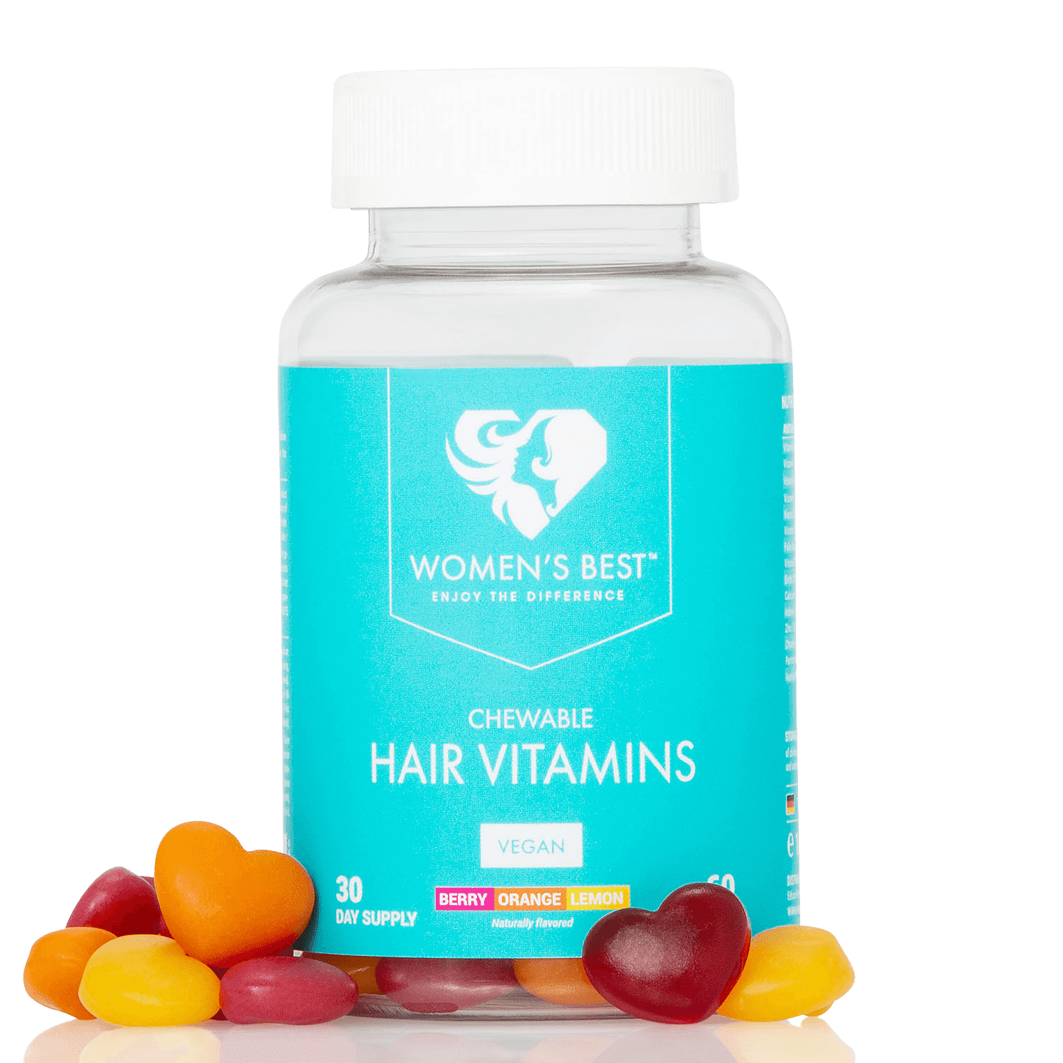 womans best hair vitamin gummies blend